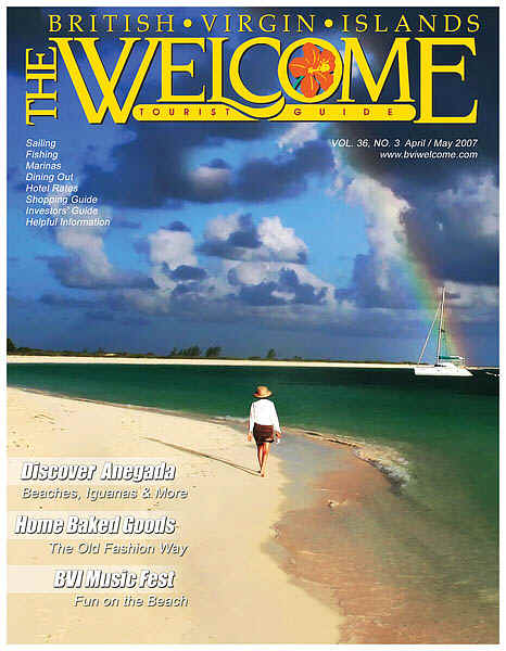 BVI Welcome Magazine Cover - April/May 2007