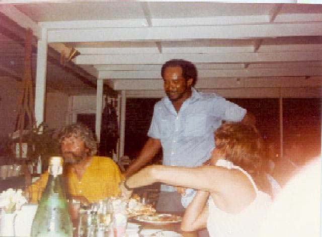 Lowell with Jean-Michel Cousteau